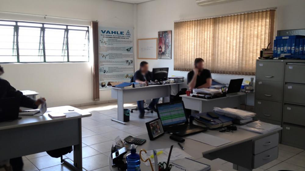 Projeto Empresa Vahle Sistemas Elétricos Vendas